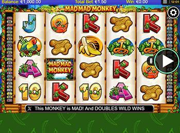 Сыграй в игровой автомат Mad Mad Monkey NextGen с его отличной графикой и анимацией и 50 линиями выплат.Символы из жизни джунглей позабавят, а тройной мультипликатор фриспинов может обогатить.